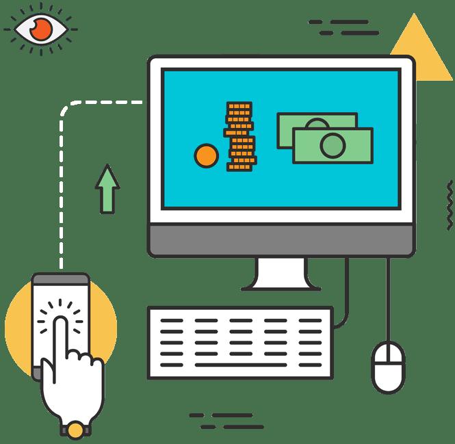 dynamic website development in saket